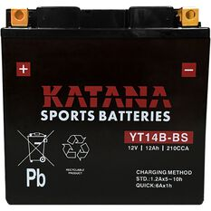 YT14B-BS Katana Motorcycle Battery, , scanz_hi-res