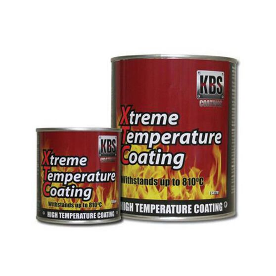 KBS XTC XTREME TEMP COATING SATIN BLACK 250ML, , scanz_hi-res