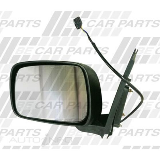DOOR MIRROR - R/H - ELECTRIC - BLACK, , scanz_hi-res
