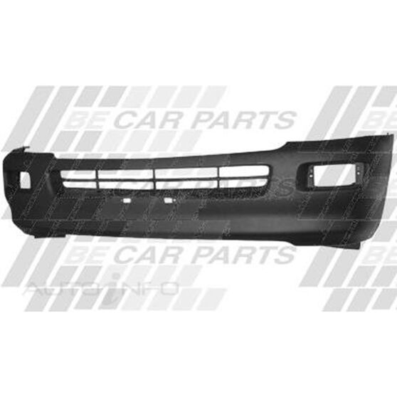 FRONT BUMPER - W/FOG LAMP HOLE - 2WD
