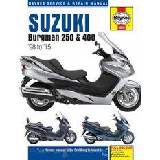 SUZUKI BURGMAN 250 & 400 1998 - 2011, , scanz_hi-res