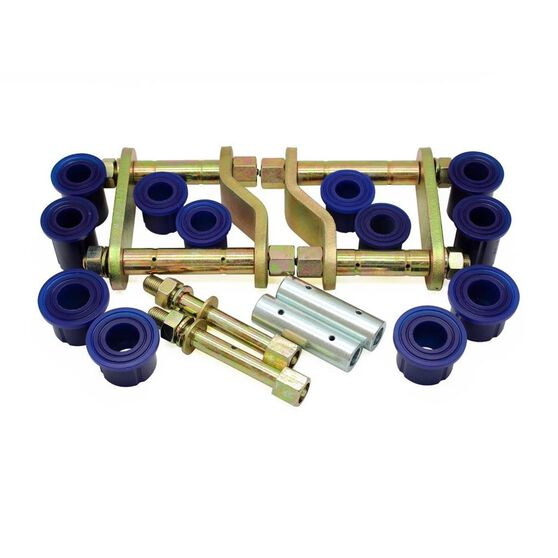 NIS D40 05-14 GREASEABLE REAR SHACKLE KIT, , scanz_hi-res