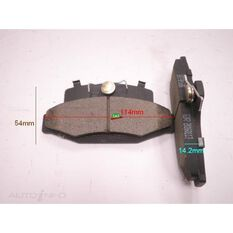 D217-7138=FMSI for Royale Brake Set Holden Commodore, Ford Falcon R, , scanz_hi-res