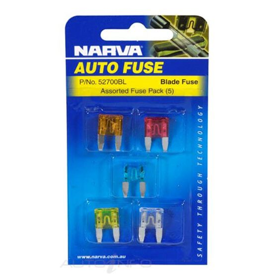 MINI BLADE FUSE ASSORTMENT PK5