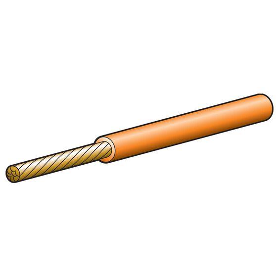 CABLE SGLE 3MM 19A 100M ORANGE, , scanz_hi-res