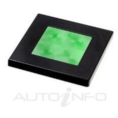 LED SQUARE LAMP GREEN 12V, , scanz_hi-res