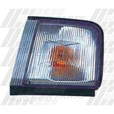 CORNER LAMP - R/H - CLEAR W/AMB INN, , scanz_hi-res