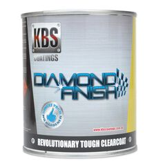KBS DIAMOND CLEAR COAT FINISH UV STABLE SELF LEVELING 4L, , scanz_hi-res