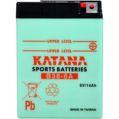 B38-6A Katana Motorcycle Battery