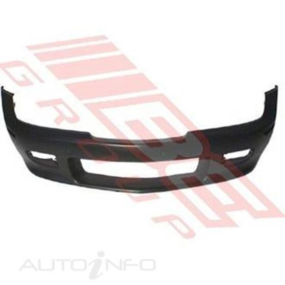 FRONT BUMPER - PRIMED BLACK