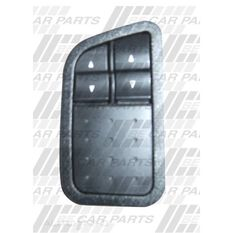 FRONT DOOR PWR WINDOW SWITCH - 2 SWITCH TYPE, , scanz_hi-res