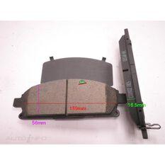 D691-7566=FMSI for Royale Brake Set  F  Nissan Pathfinder, X trail 95-, , scanz_hi-res