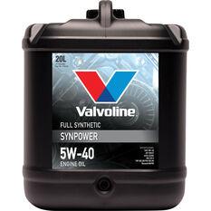VALVOLINE SYNPOWER 5W/40 20L, , scanz_hi-res