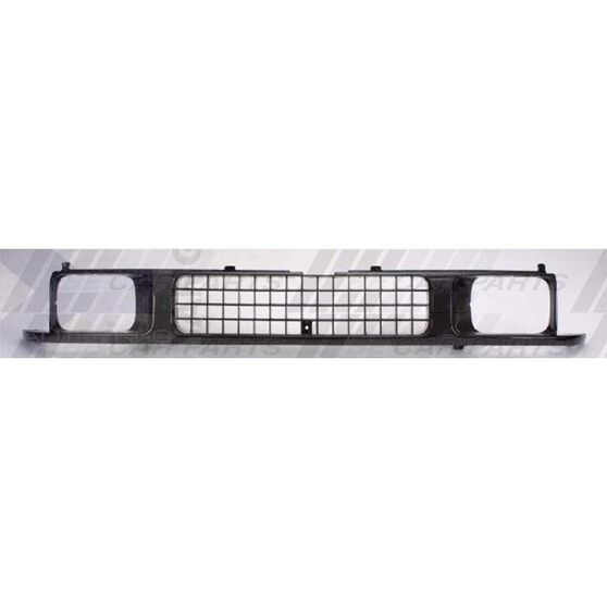 GRILLE - GREY/BLACK - WITH BEZELS