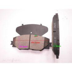 D1211-8331=FMSI for Royale Brake Set  F  Toyota Rav 4 06-, , scanz_hi-res