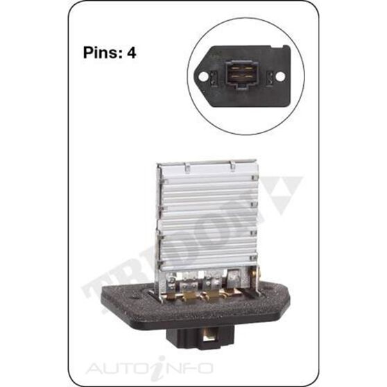 TRIDON HEATER FAN RESISITOR, , scanz_hi-res