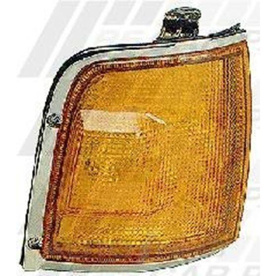 CORNER LAMP - R/H - AMBER/CHROME, , scanz_hi-res