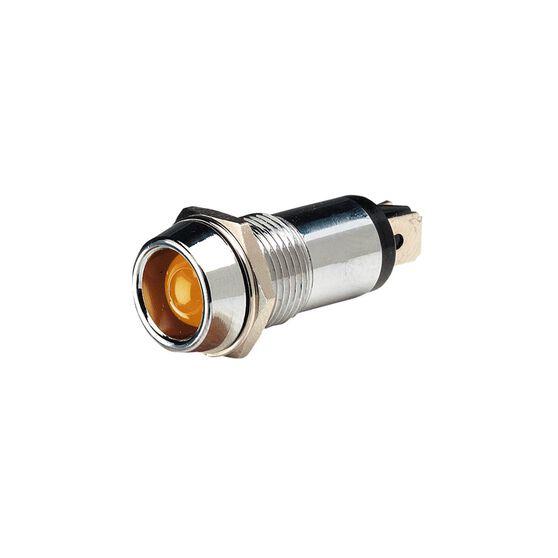 PILOT LAMP 12V LED AMBER