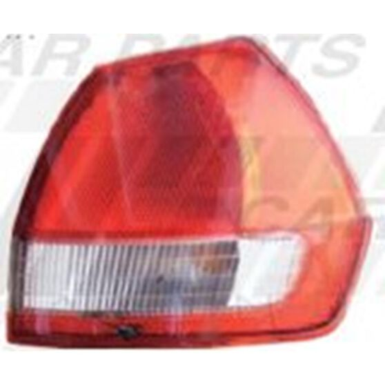 REAR LAMP - L/H - RED/CLEAR, , scanz_hi-res