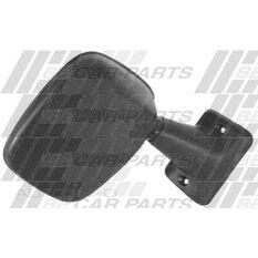 DOOR MIRROR - R/H - BLK W/PLSTC ARM, , scanz_hi-res