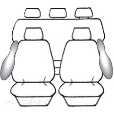 TOYOTA HILUX DOUBLE CAB - SR5 (10/2009 - ON) DEPLOY SAFE (CHAR), , scanz_hi-res