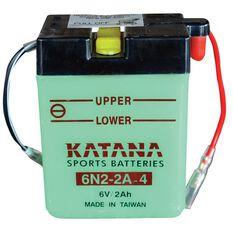 6N2-2A-4 Katana Motorcycle Battery