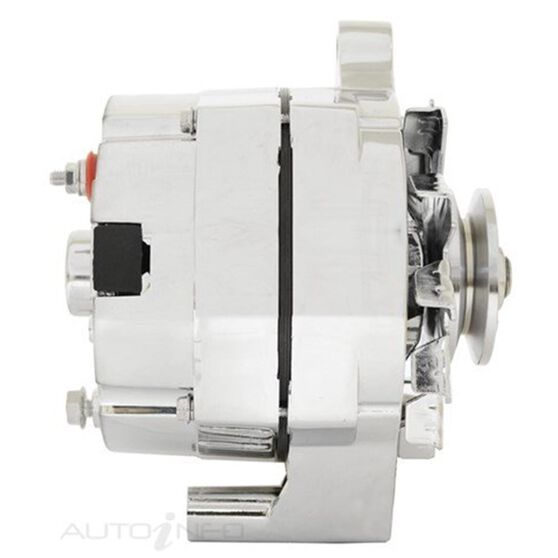 ALTERNATOR 12V 105A CHROME SUITS EARLY FORD SHOW CARS, , scanz_hi-res