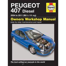 PEUGEOT 407 DIESEL (2004 - 2011), , scanz_hi-res