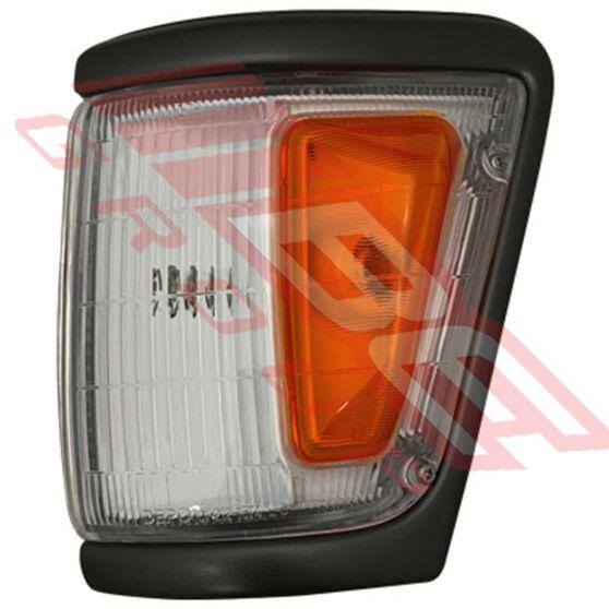 CORNER LAMP - L/H - AMBER/CLEAR, , scanz_hi-res