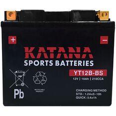 YT12B-BS Katana Motorcycle Battery