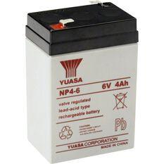 NP4-6FR Yuasa NP VRLA Battery