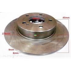 Rotor 278x45x9 Rear Nissan Maxima A32, A33, , scanz_hi-res
