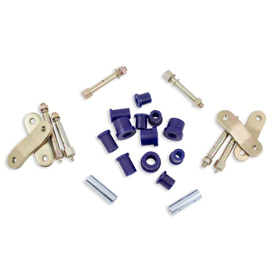 MITSI TRITON 15- GREASEABLE REAR SHACKLE KIT, , scanz_hi-res
