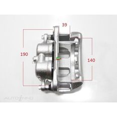 Caliper LHF GU Patrol 2.8,2,4.2Ltr Twin Piston 4X4, , scanz_hi-res