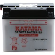 Y50-N18A-A Katana Motorcycle Battery, , scanz_hi-res