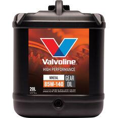VALVOLINE HP GEAR OIL 85W-140 20L, , scanz_hi-res