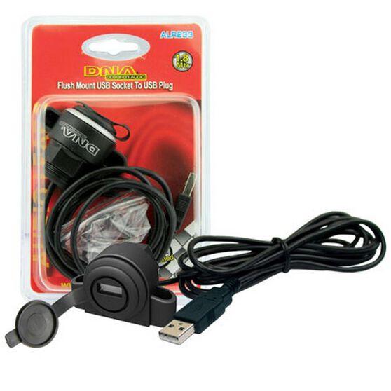 USB EXTENSION FLUSH / SURFACE MOUNT SOCKET TO PLUG, , scanz_hi-res