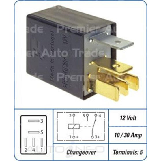 10/30 AMP 5 PIN MICRO RELAY, , scanz_hi-res