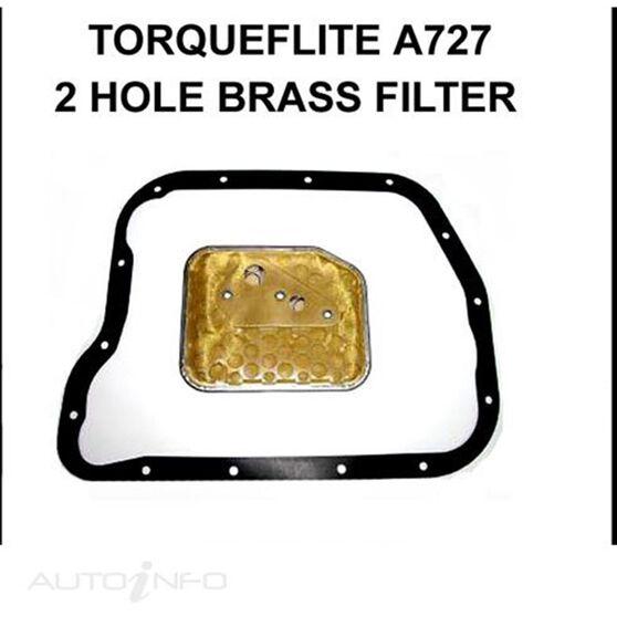 TORQUEFLITE A727 2 HOLE BRASS FILTER, , scanz_hi-res
