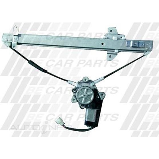 WINDOW REGULATOR - R/H FRT/REAR - ELECTRIC - W/MOTOR, , scanz_hi-res