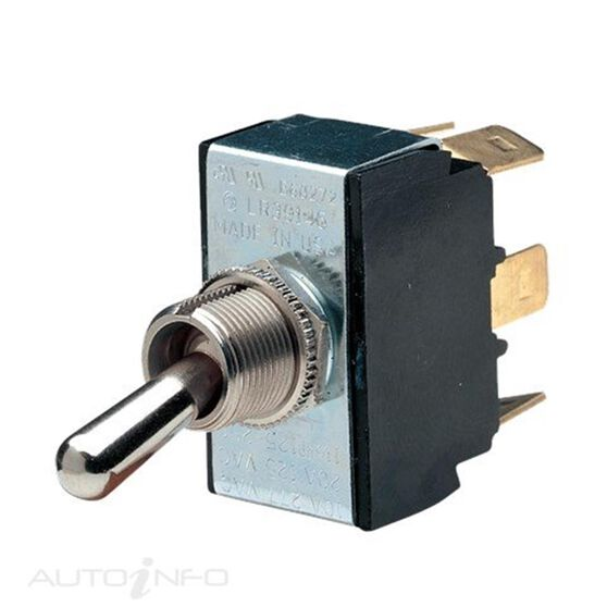 SWITCH TGLE H/D 25A DPDT ON/ON