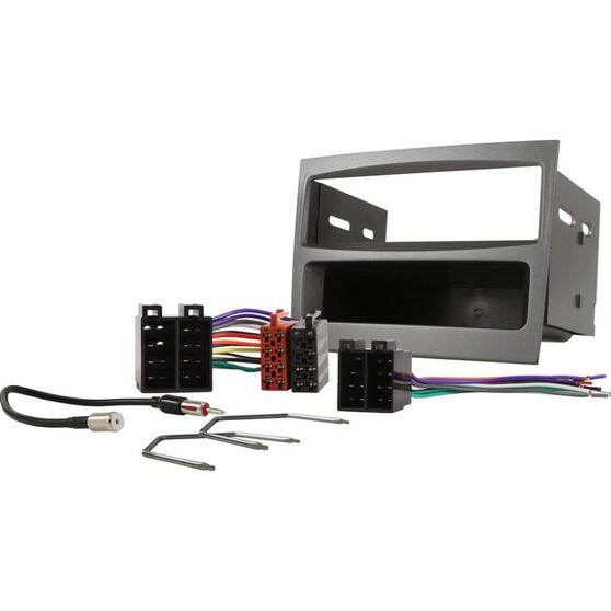 FITTING KIT HOLDEN COMMODORE VY - VZ SINGLE DIN GREY, , scanz_hi-res