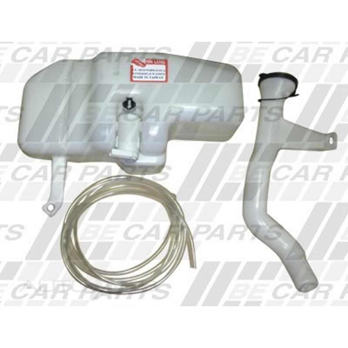 HELLA Front Rear Windscreen Washer Reservoir Bottle//Tank//Pump Kit car 3 Litre
