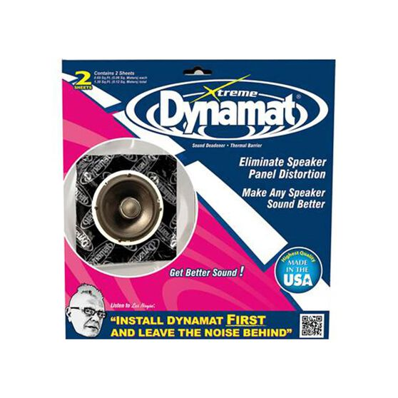 DYNAMAT XTREME SPEAKER KIT (250MM X 250MM X 1.72MM) 2 SHEETS, , scanz_hi-res