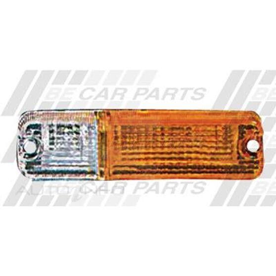 BUMPER LAMP - LENS - R/H - AMB/CLR, , scanz_hi-res