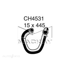 ENGINE OIL COOLER - COOLANT HOSE FORD TERRITORY SY 4.0 LITRE (6CYL) INLET (TUBRO)*, , scanz_hi-res