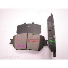 D908-7787=FMSI for Royale Brake Set  F  Toyota Camry 01-, , scanz_hi-res