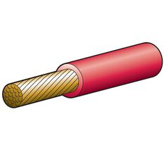 CABLE BATTERY RED 8MM 100AMP, , scanz_hi-res