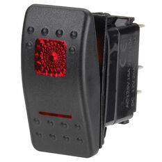 SWITCH SEALED ROCKER OFF/MOM ON 12V RED, , scanz_hi-res