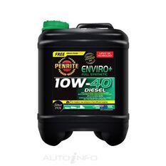 1X ENVIRO + ENGINE OIL 10W40 10LTR, , scanz_hi-res